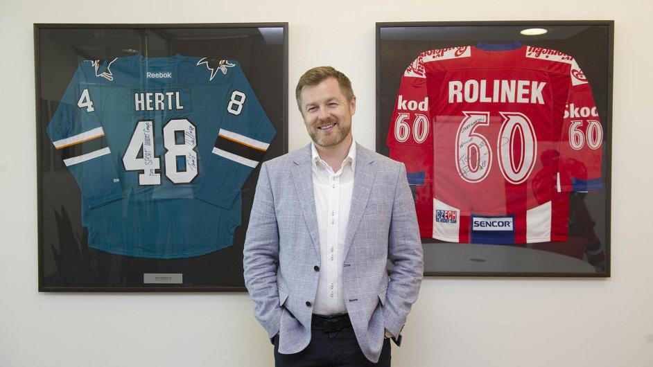 Robert Spálenka je jeden z nejznámějších sportovních agentů v Česku.