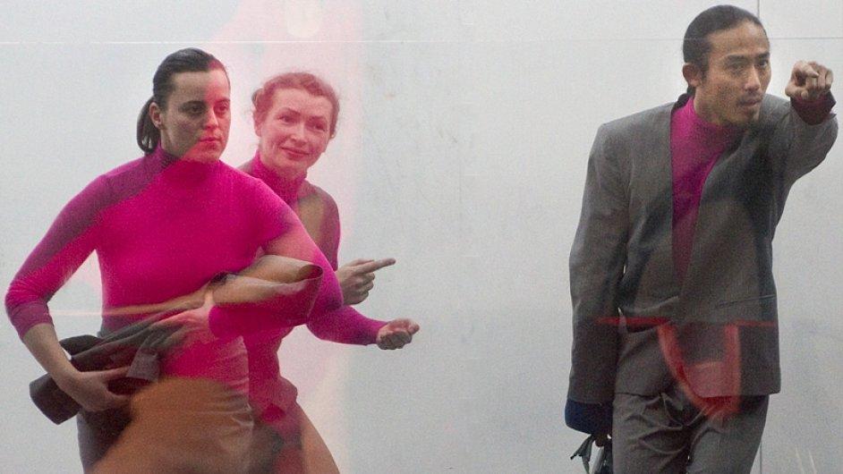 Snímek ze zrušené inscenace Informátoři.