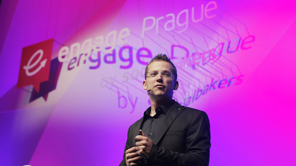 Engage Prague 2015. Na snímku Jan Řežáb