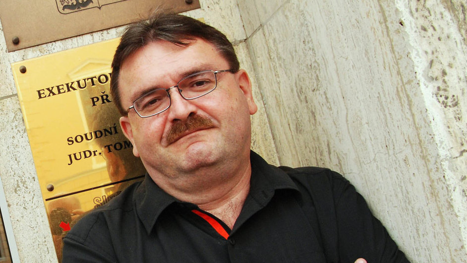 Podnikatel s cizími dluhy: Tomáš Vrána působil 15 let jako trestní soudce, od roku 2001 budoval svůj exekutorský úřad v Přerově.