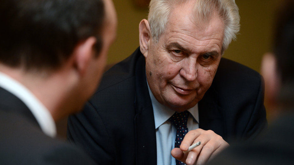 Prezident Miloš Zeman poskytl rozhovor ČTK.