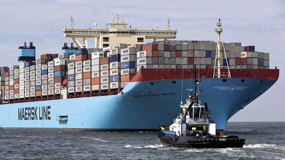 Největší kontejnerová loď na světě McKinney Moller