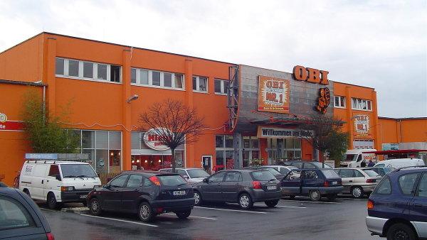 OBI hobbymarket - Ilustra�n� foto.