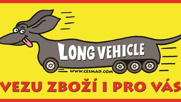 Jako součást nové kampaně se na českých kamionech začíná objevovat pozměněný symbol.
