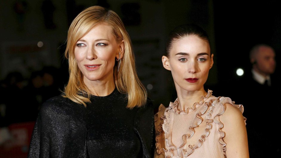 Devět nominací na ceny Bafta získal snímek Carol, v němž účinkují Cate Blanchettová (vlevo) a Rooney Mara.