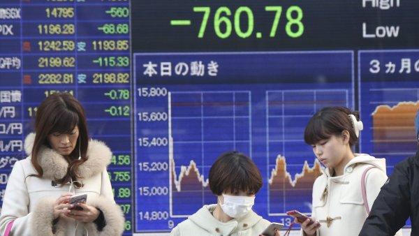 Japonská burza při pondělním obchodování prudce vzrostla - Ilustrační foto.