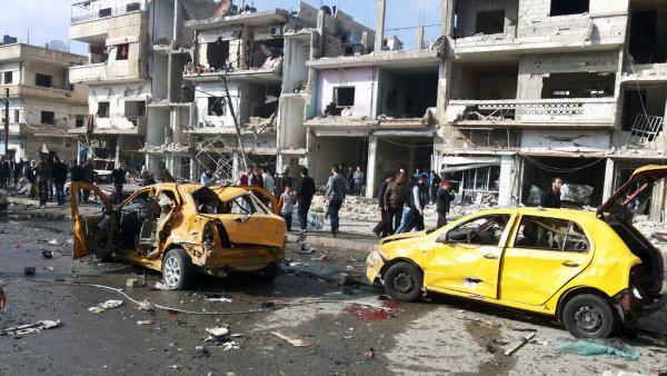 V�t�inu Homsu kontroluje syrsk� vl�da, ale m�sto je �asto d�ji�t�m podobn�ch �tok� - Ilustra�n� foto.