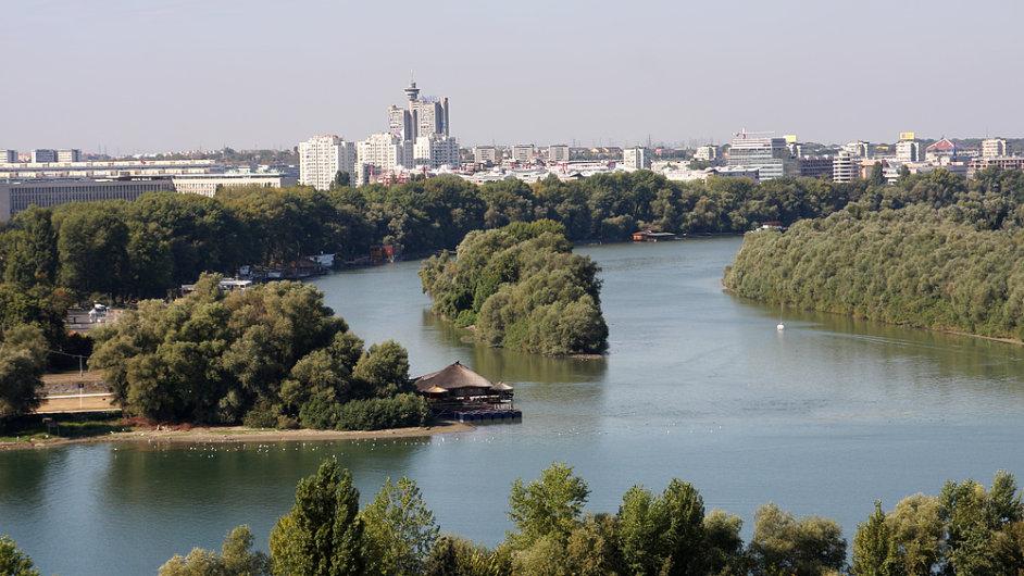 Bělehrad - Sáva a Dunaj