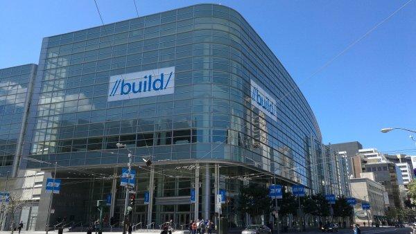 Konference Microsoft Build prob�h� tento t�den v Moscone Center v San Franciscu