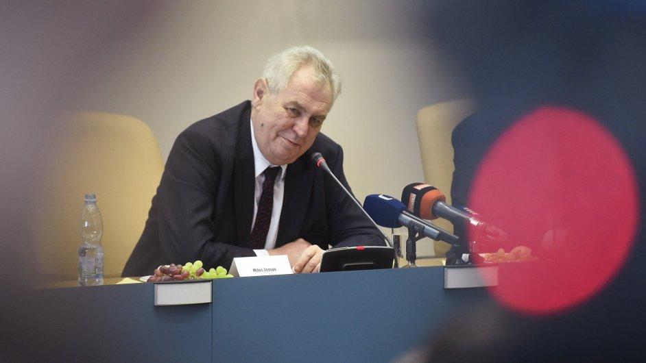 Miloš Zeman v Královéhradeckém kraji