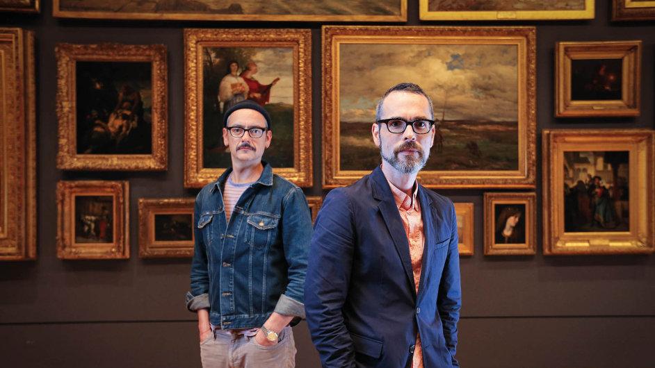 Viktor & Rolf, návrhářské duo zAmsterdamu