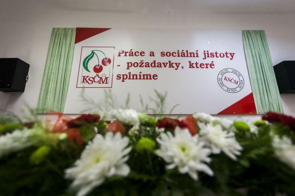 volby 2016, KSČM