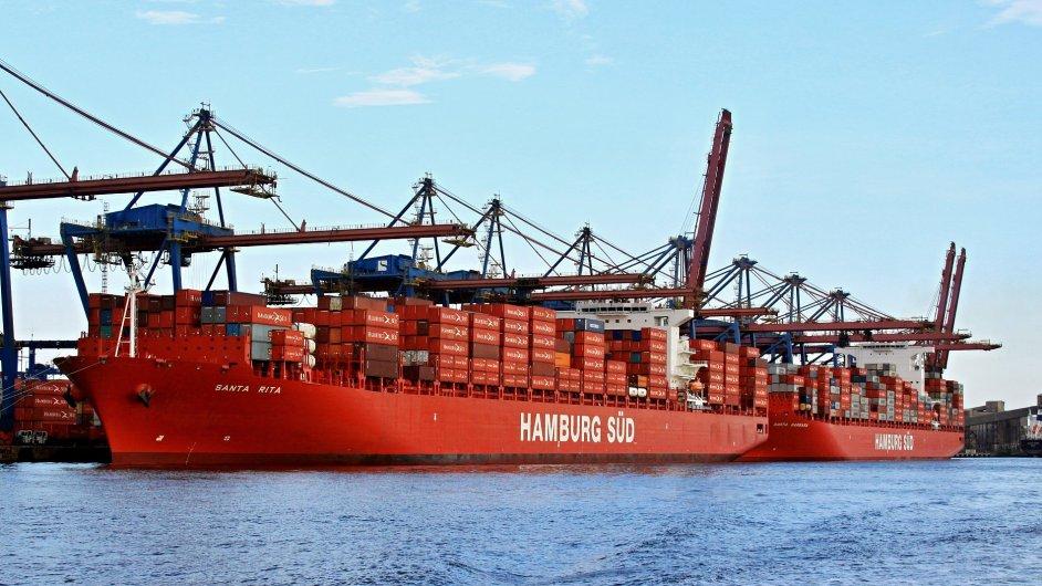 Celková flotila Maersku bude mít po sloučení s Hamburg Süd 741 kontejnerových lodí.
