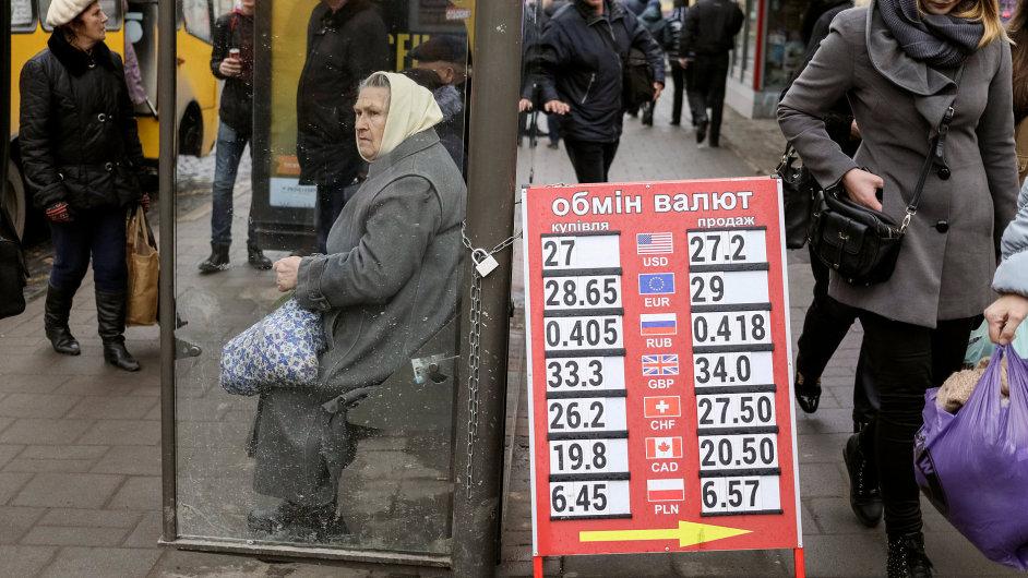 MMF předloni schválil program hospodářské pomoci Ukrajině v celkovém objemu 17,5 miliardy dolarů - Ilustrační foto.