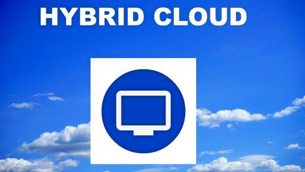 Hybridní cloud, ilustrace