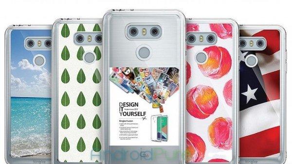 LG G6 v průhledném pouzdru
