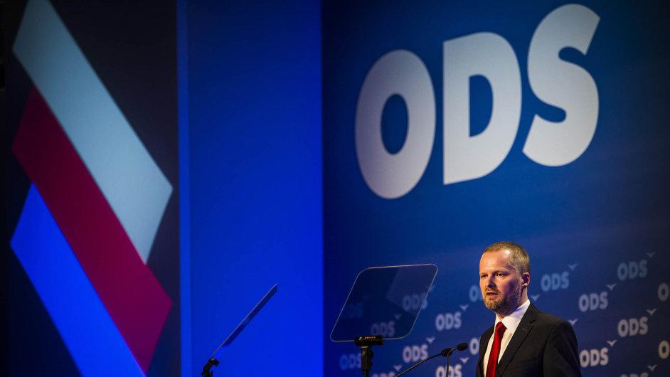 Slušňák předseda. Petr Fiala chce, aby ODS volili lidé, kteří přemýšlí a po straně chtějí plnění programu.