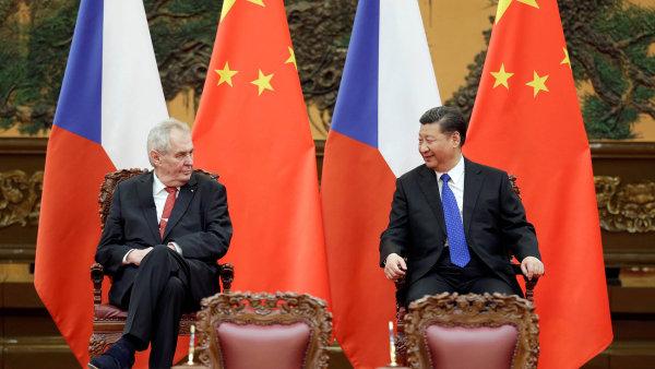 Na fóru o stavbě Nové hedvábné cesty je hostem také český prezident Miloš Zeman.