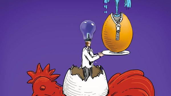 Plánujte inovace napříč firmou (ilustrace)