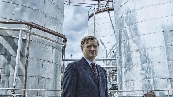 Majitel chemičky Fosfa Ivan Baťka