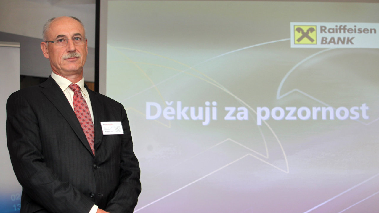 Rudolf Rabiňák odchází z Raiffeisenbank.