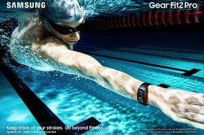 Samsung se chystá k vodě: Představil náramek Gear Fit2 Pro a hodinky Gear Sport, které vydrží plavecké tréninky a mohou i do moře