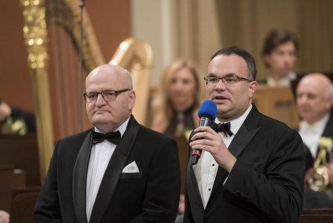 Snímek ze zahajovacího koncertu České filharmonie v pražském Rudolfinu.