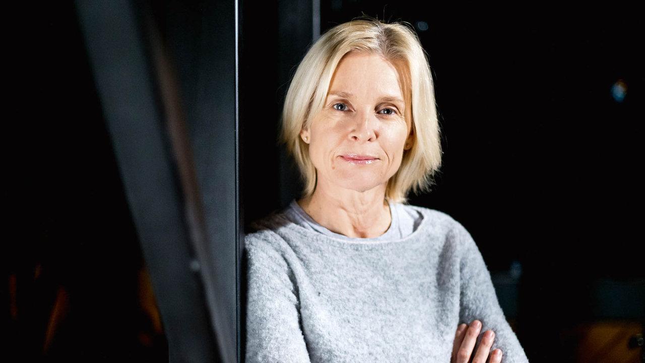 Herečka Ingrid Timková.