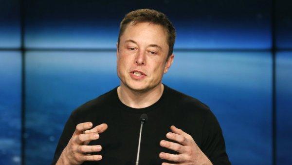 Americký vizionář Elon Musk, zakladatel automobilky Tesla a společnosti SpaceX.
