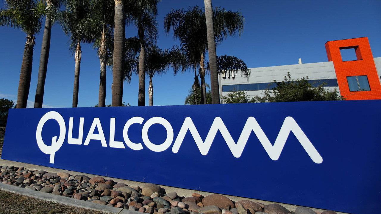 Qualcomm je největším výrobcem mobilních čipů na světě.