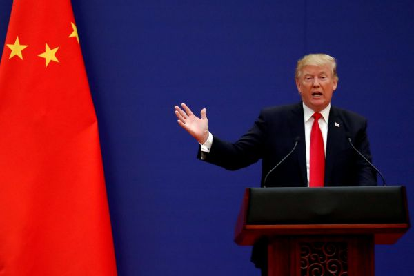 Donald Trump Čína