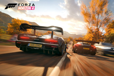 Forza Horizon 4 je nejlepší závodní hra historie a je jedno, že se v ní opět má jezdit vlevo