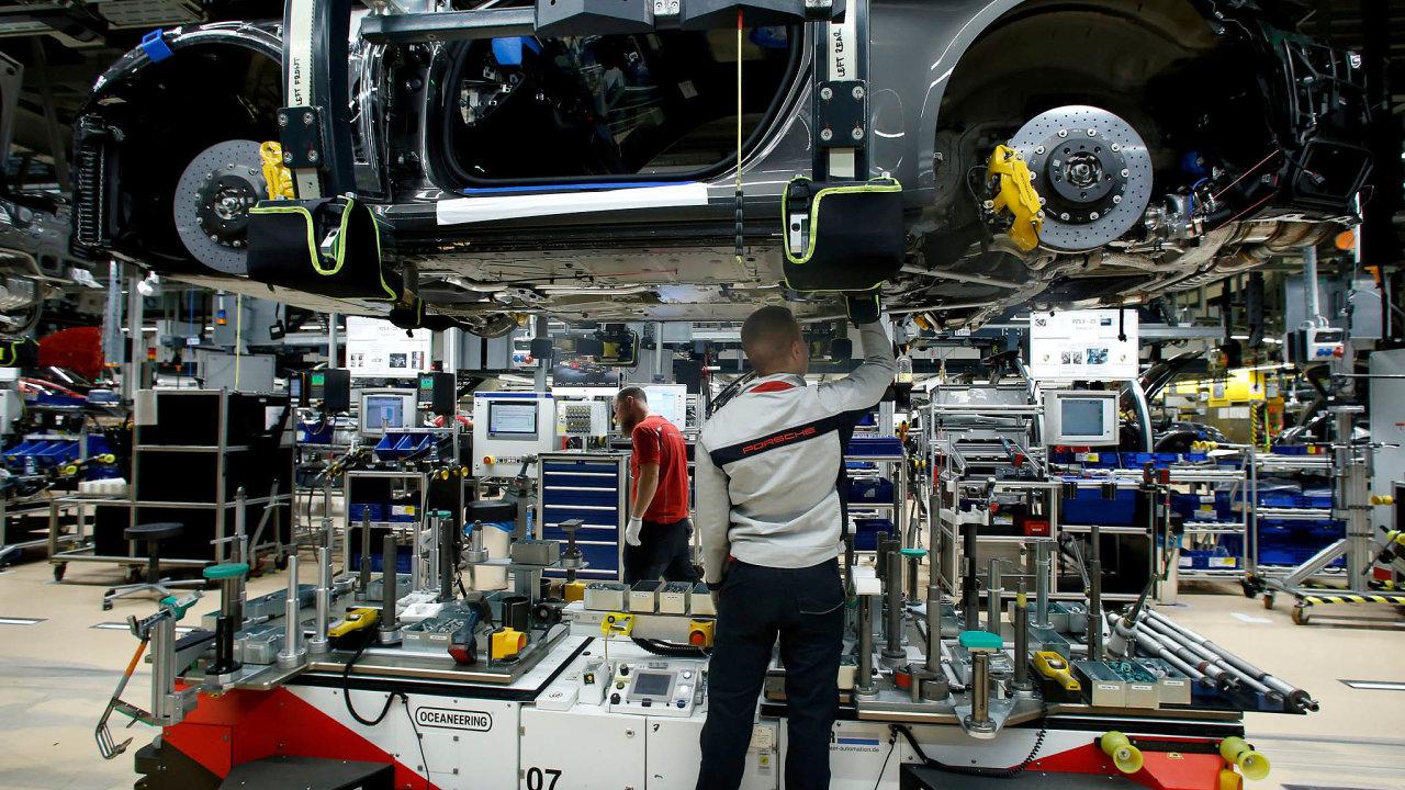 Německé hospodářství se v poslední době potýká se slabší globální poptávkou, která má negativní dopad na německý export a průmysl.