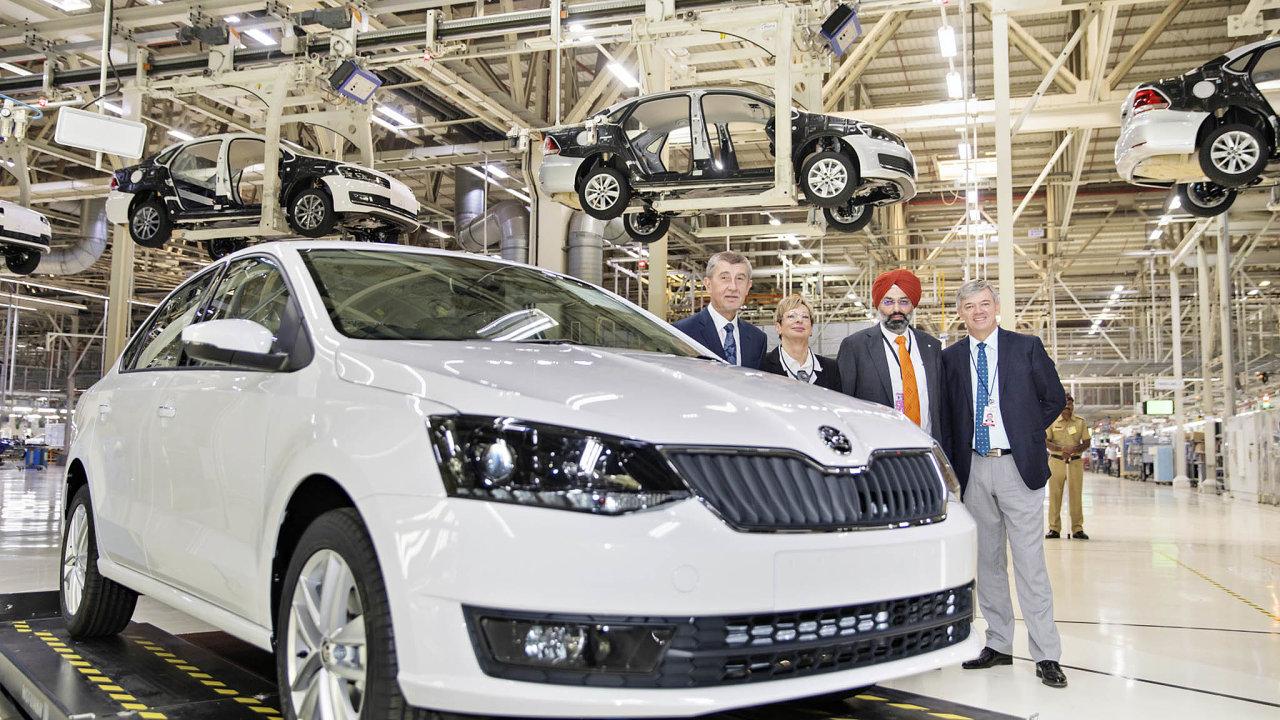 Vzestup značky. Škodovka je v Indii populární, spolu s Volkswagenem chystá pro tento trh novou strategii.