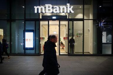Polská mBank působí i v Česku, kde má 660 tisíc klientů. Nasnímku pobočka mBank veVaršavě.