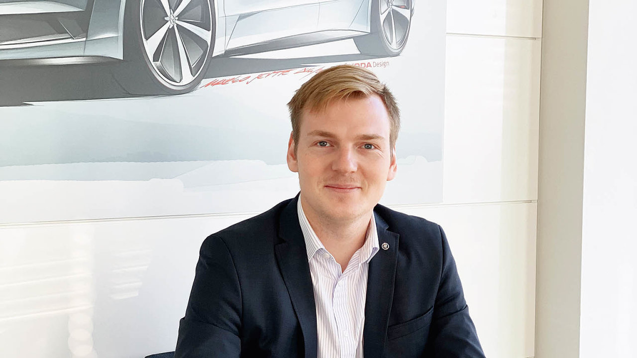 Michal Nykl z oddělení fleetového prodeje Škoda Auto