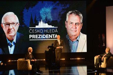 Pořad Česko hledá prezidenta odvysílala televize Prima loni 23. ledna.