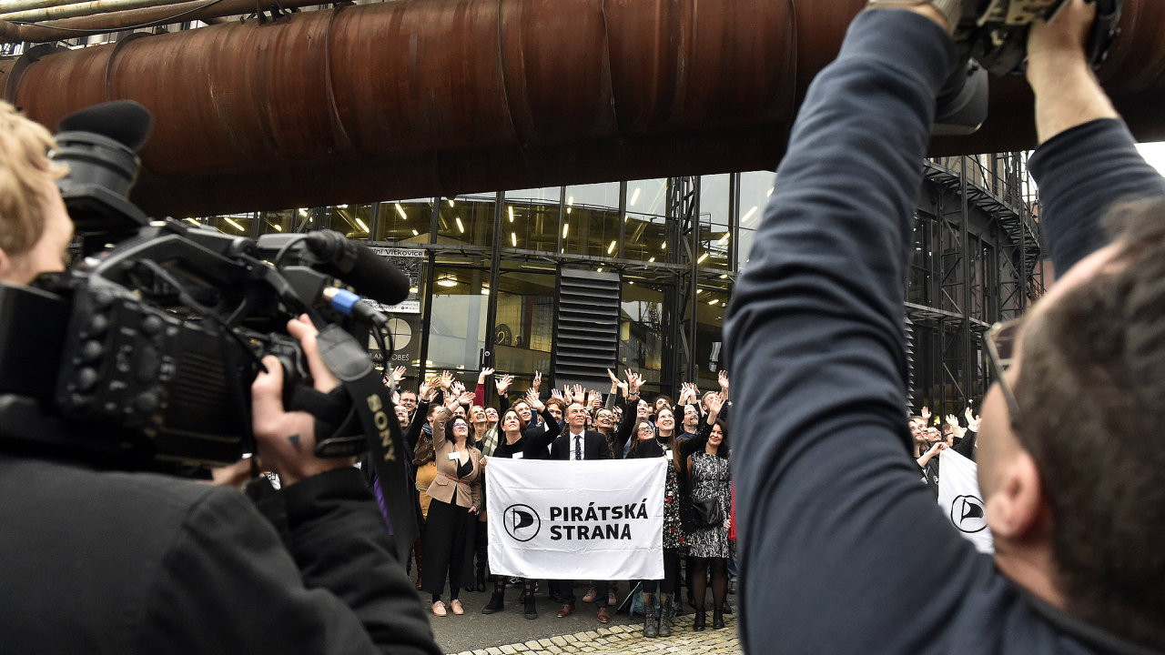 V Ostravě se o víkendu konalo fórum České pirátské strany. Piráti oproti loňsku působili dospěleji.