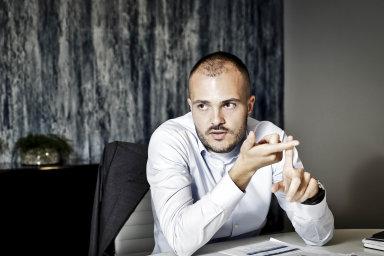 Najaře 2018 předal Jaroslav Strnad skupinu CSG svému synovi Michalovi (nasnímku), kterému je dnes 27 let.