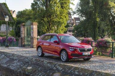 Odbory automobilky Škoda Auto se obávají přesunu výroby nového malého SUV Kamiq. Ilustrační foto.