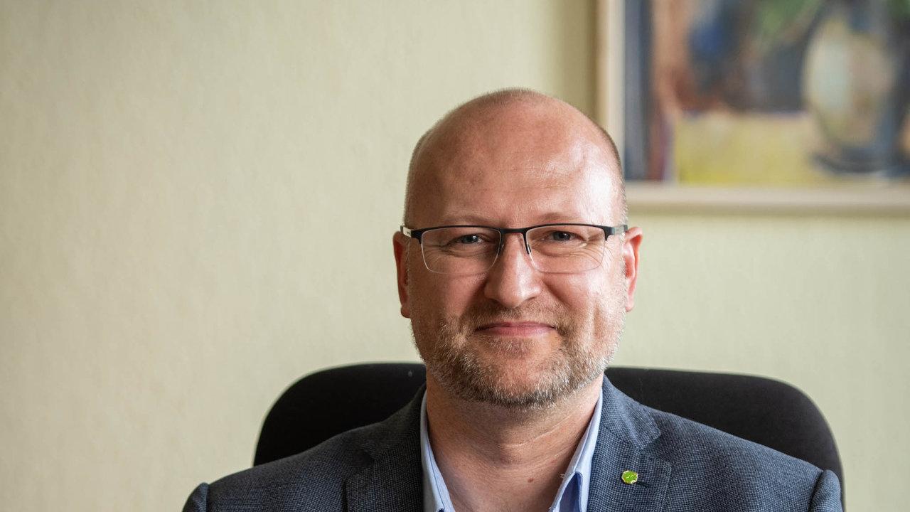 Předseda Zemědělského svazu ČR Martin Pýcha