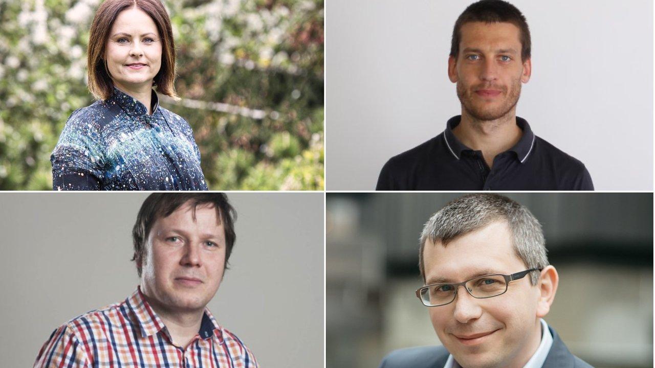Think tank HN: Helena Horská, Radek Šitera, Martin Lux, Martin Lobotka.