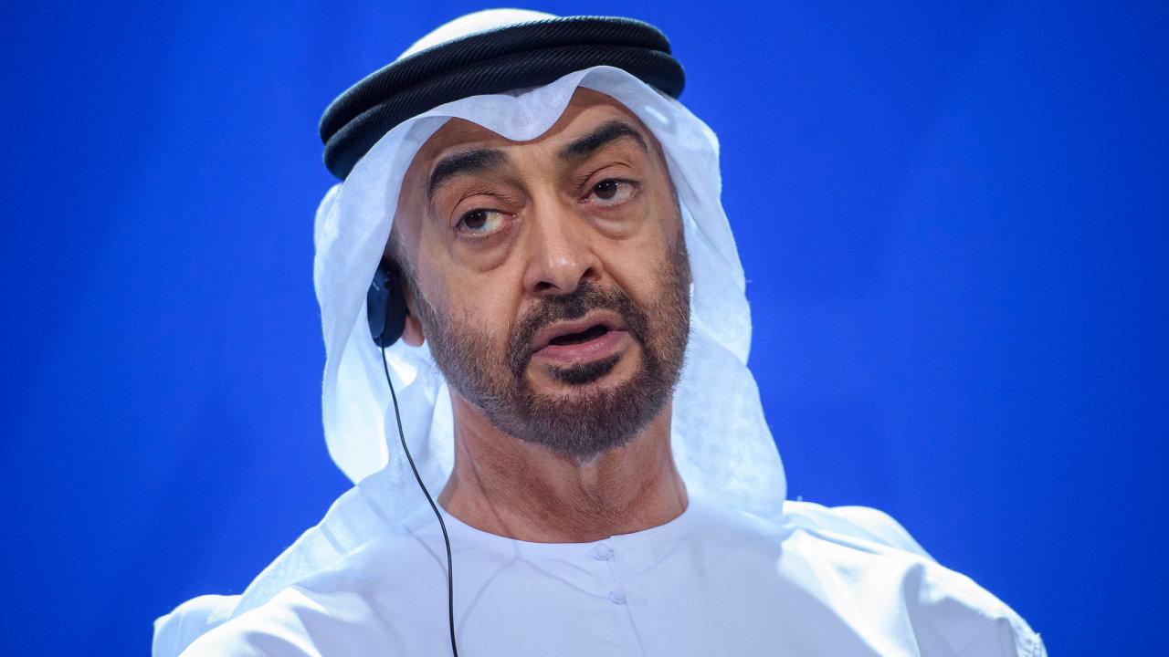 Šejk Mohammed bin Zayed Al Nahyan, korunní princ Abu Dhabí, který historickou dohodu s Izraelem umožnil.