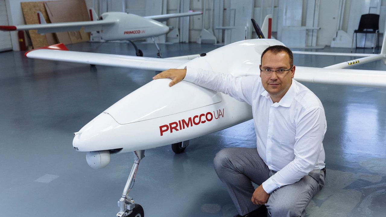 Start si pochvaluji. Zakladatel českého výrobce bezpilotních letadel Primoco UAV přiznává, že trh Start pomohl jeho firmě nejen v růstu akcií, ale i samotném objemu obchodů.