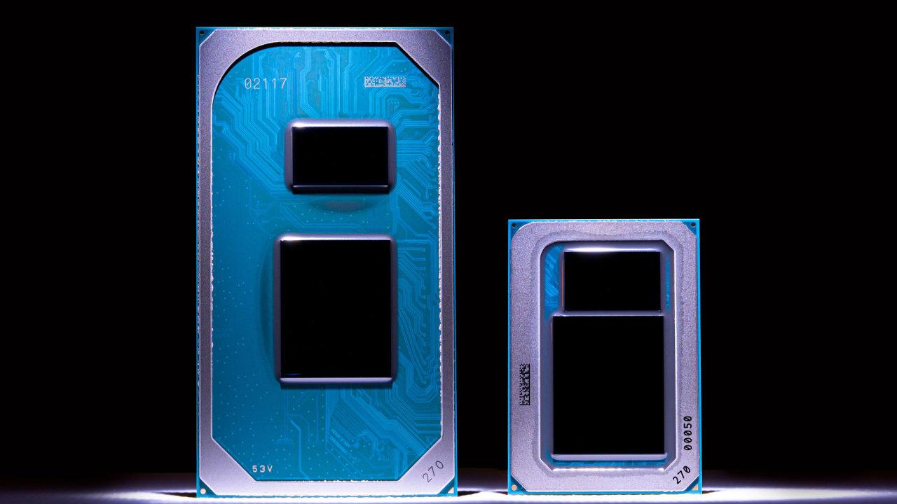 Jedenáctá generace čipů Intel Core pro mobilní notebooky skrývá záruku vysoké výdrže baterie pod značkou Intel Evo.