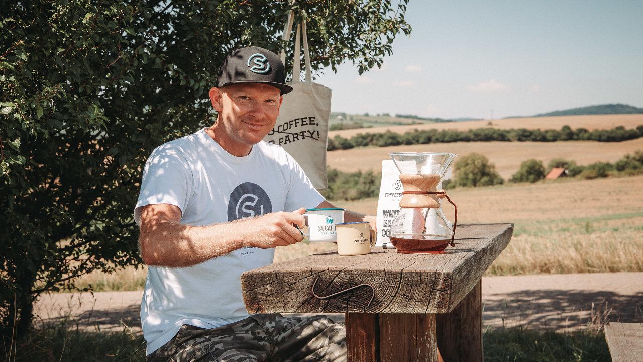 Jiří Plšek, majitel rodinné pražírny Coffee Spot