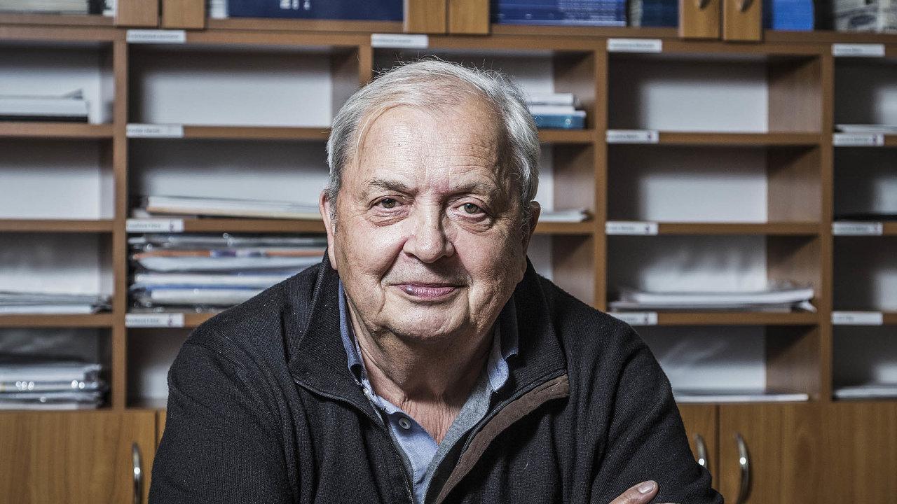 Profesor Luboš Petruželka, přednosta Onkologické kliniky 1. lékařské fakulty Univerzity Karlovy aVšeobecné fakultní nemocnice vPraze.