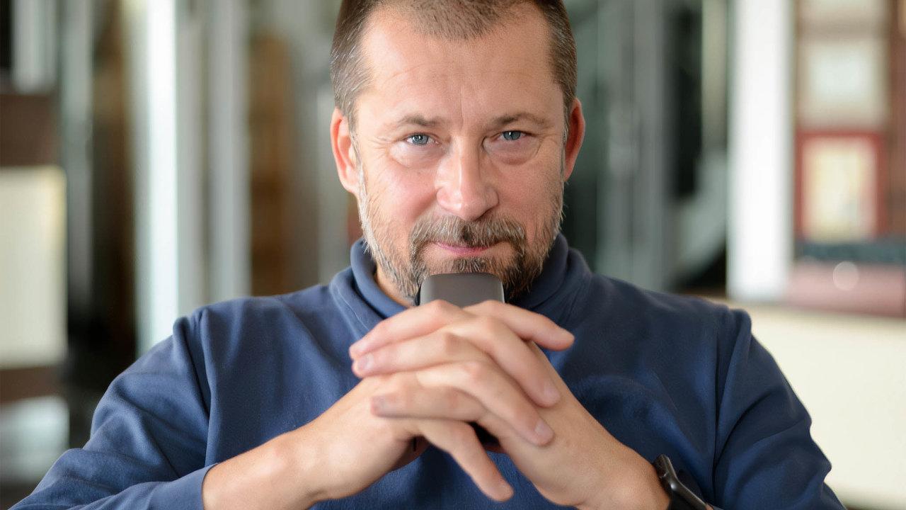 Zdeněk Bínek, ředitel společnosti Zebra Systems.