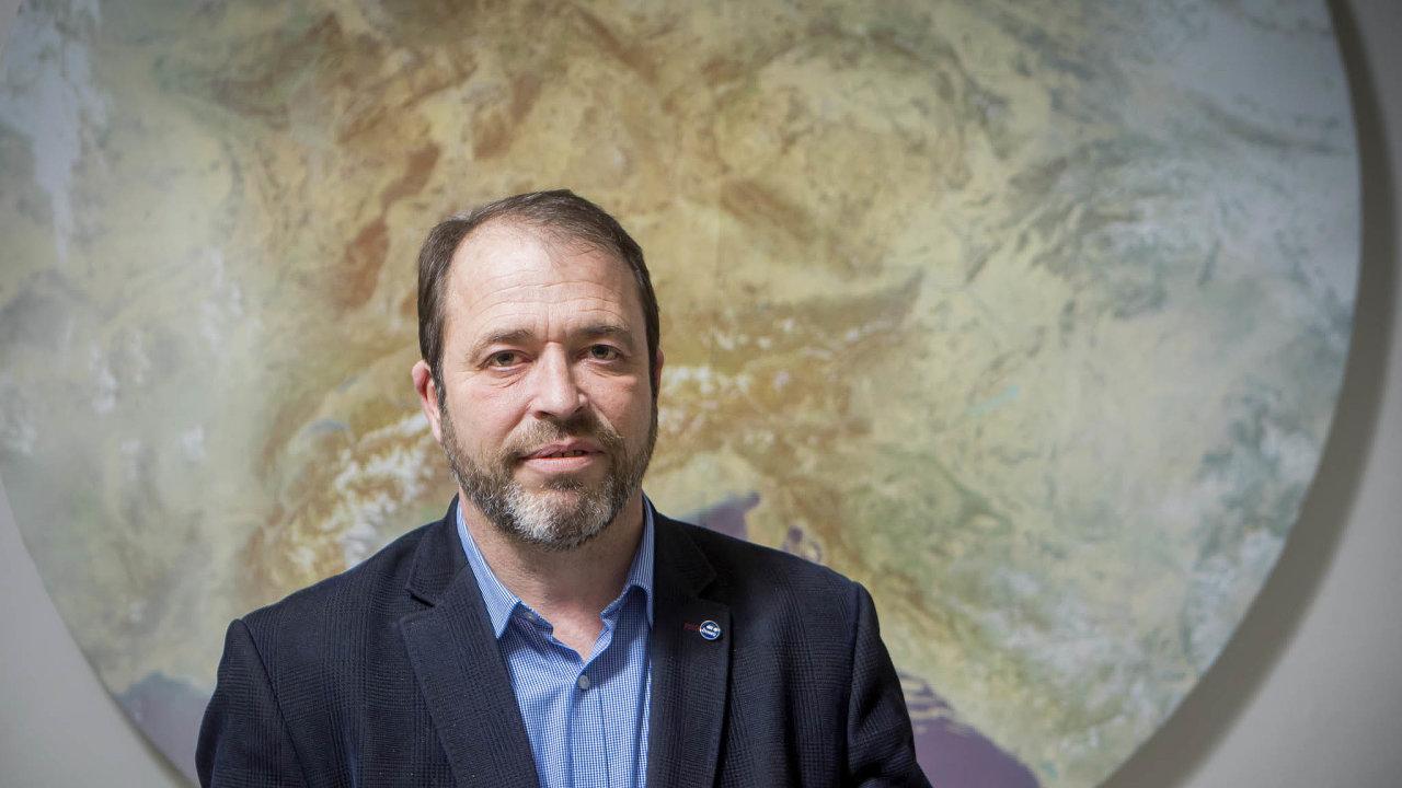 Mark Rieder, ředitel Českého hydrometeorologického ústavu