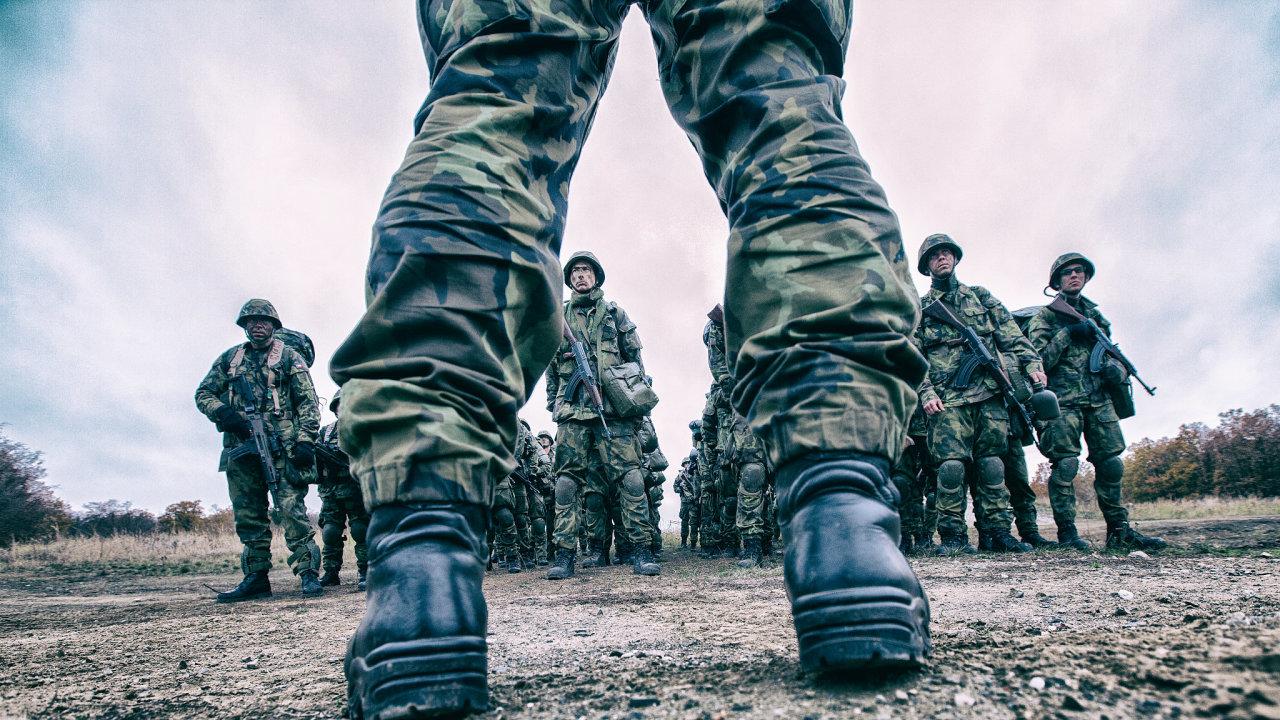 armáda ČR, voják, základní vojenský výcvik
